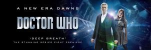 DOCTOR WHO SERIES 8 POSTER 2 by Umbridge1986