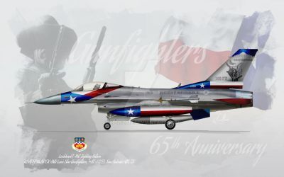 F-16C - 149 Fighter Wing - Lone Star / Gunfighters by LPBS2012