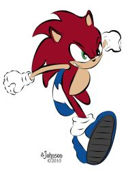 Sonic, The Hedge Hog by EsBest