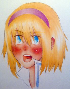 Alice --} Dere by inuonlyone