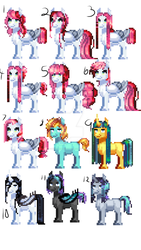 Pixle adopts10 points each by SketchPawAdopts