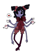 Muffet by SuspendedInSpace