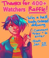 Watchers Raffle (Closed) by AssortedA-Art