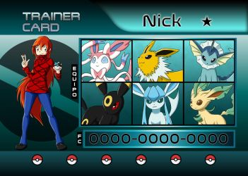 trainer card by Maucen