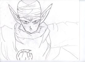 Piccolo Drawing by PoisonAlvie