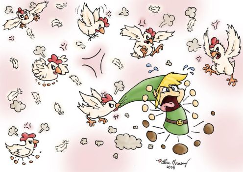 Attack of the Cuccos by aliceapproved
