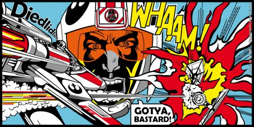 Star Wars PopArt - Battle by Bergie81