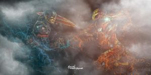 Captain America: Civil War by ShanksTorpedo