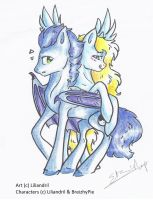 See how the silly ponies do play by Liliandril
