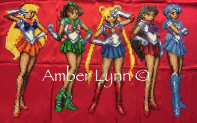 Inner Sailor Scouts Perler Bead Design by Amber--Lynn