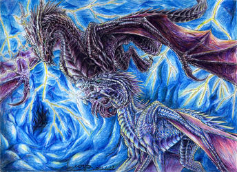 The Dragon's Storm by Black-Hermit