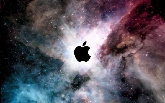 Apple Wallpaper by ewotion