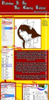 Sai-PS hair coloring tutorial by DarkBullet777