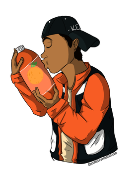 Orange Soda by DuckPrince