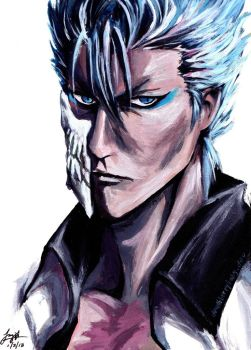Grimmjow by deathberrybaby