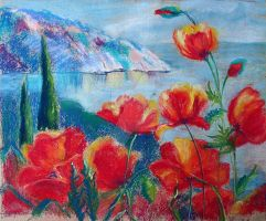 Poppies by CatRick