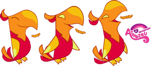 [EDITED]Phoenix Hatchlings Expressions by atnezau