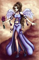 Angel of Midgar III by GawainesAngel