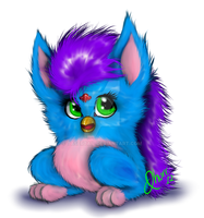 90's Furby by tasertail