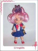 Chibiusa Custom Doll by Amigdalita