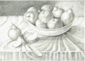 Apples and Pears by Rachelute