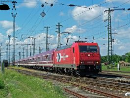KINK FM Sziget partytrein with 185 604 by morpheus880223