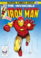 Retro Ironman cover by FlowComa