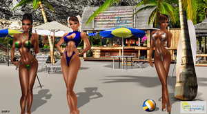 DOA Xtreme VolleyBall 3: DLC Characters 2014 :D by Darc4ssass1nCMD