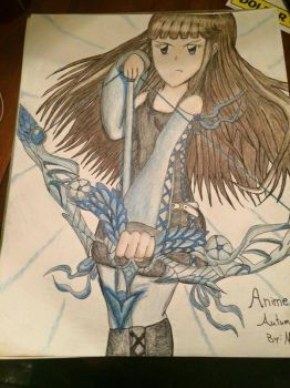 Anime Autumn's New Design by Gexzilla5