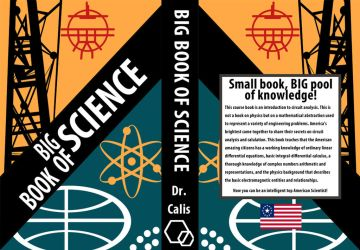 Big Book of Science Book Cover by appleofecstacy
