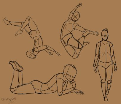 Random Poses by TastyOranges