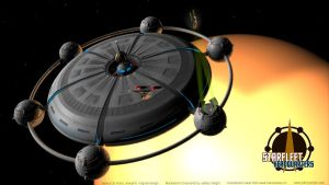Starfleet Headquarters by JefferyWright