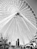 Navy Pier Ferris Wheel by itsayskeds