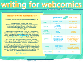 Writing for Webcomics Tutorial (preview) by shingworks