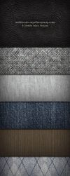 Fabric Texture and Pattern Set by WebTreatsETC