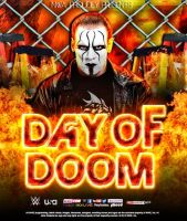 NWA DAY OF DOOM  POSTER 2015 by DS951