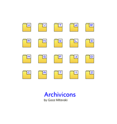 Archivicons x 32 by monsteer