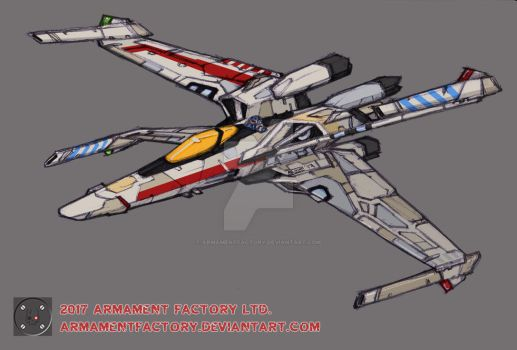 RED 5 by ARMAMENTFACTORY