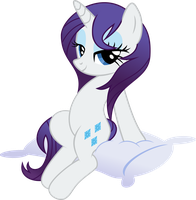 Rarity's Day Off by abydos91