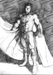 Superman of Steel Sketch by Eric Meador