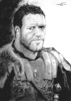 Russell Crowe by sozey