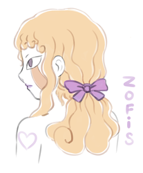 Zofis with ponytail by my-new-account