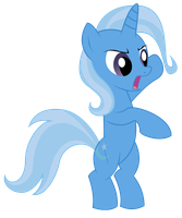 trixie is standing like a boss by Resistance-Of-Faith