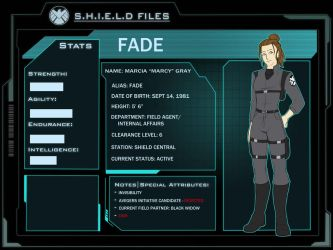 SHIELD Files: Fade by Ty-Chou