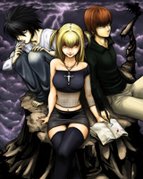 Death Note - The World by Robbuz