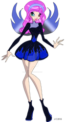MT - Hadelle, Fairy of the blue flame by HeartStorm4ever