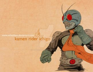 Kamen Rider Ichigo by wheeliam