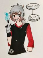 Human Cuppo by iJel0e