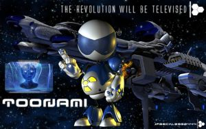 Toonami: T.O.M. 1 Era Wallpaper by JPReckless2444