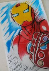 I do not want to leave, Mr. Stark :( by McDave19